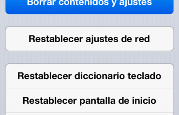 Como preparar dispositivo iOS para regalar o vender copia