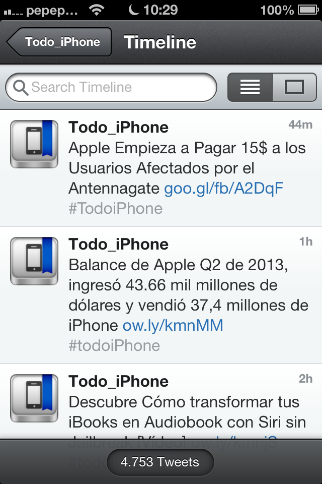 Tweetbot - TiP - screenshot 1