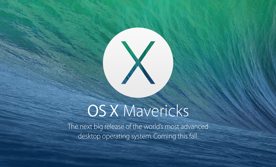 Mavericks OS X