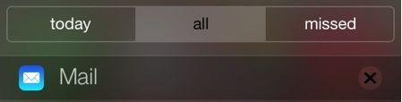 Notificaciones iOS 7