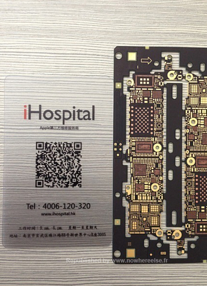 Placa Base iPhone 5S - iHospital 2