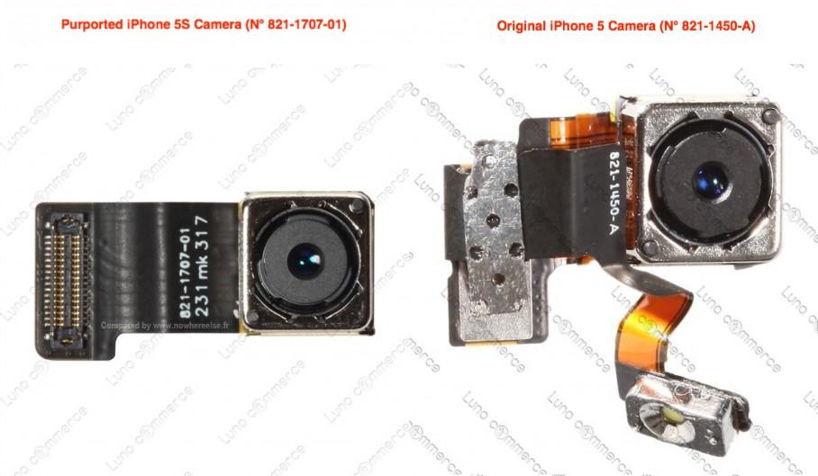 Componente Camara y Flash iPhone 5S
