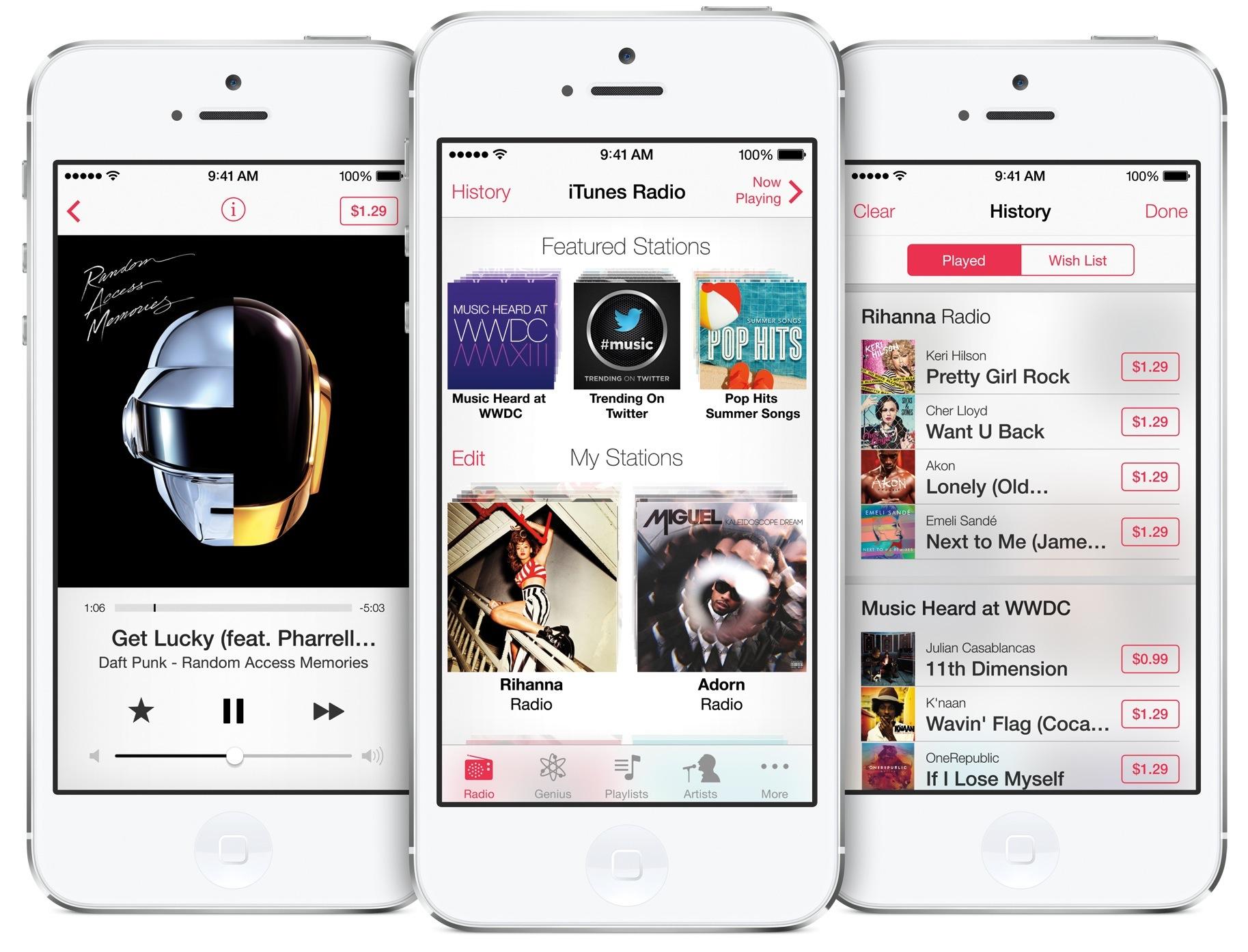 iTunes Radio iPhone 5