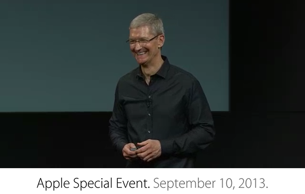 Apple Keynote iPhone 2013
