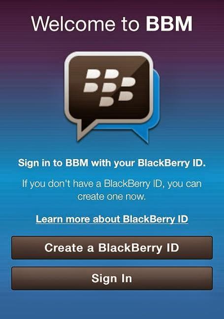 BBM iPhone