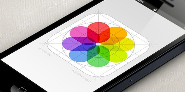 Fotos App iOS 7