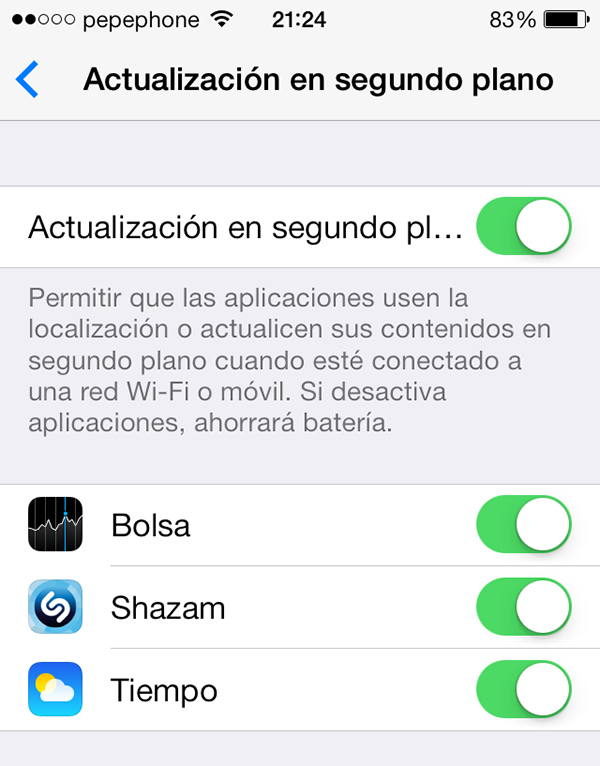 iO7 vs iOS 6 - Novedades de Uso - Actualizacion Apps
