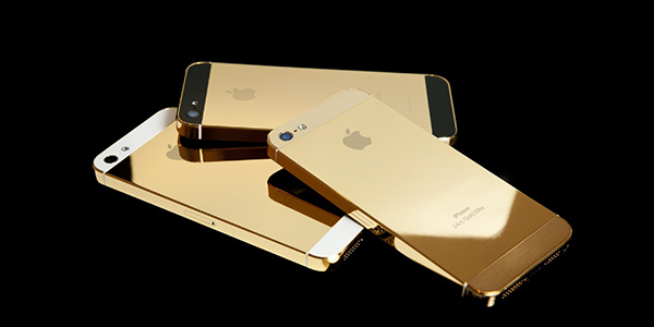 iPhone Oro 24 Kilates