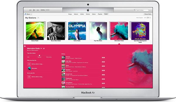 iTunes 11.1 Radio iTunes