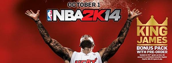 NBA 2K14 para iPhone iPod y iPad