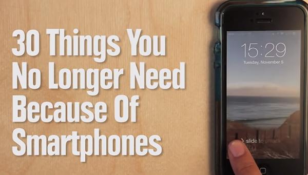 30 Cosas que No Necesitaremos Más Gracias al iPhone