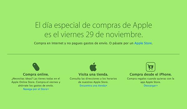 Apple Black Friday 29 Nov 13