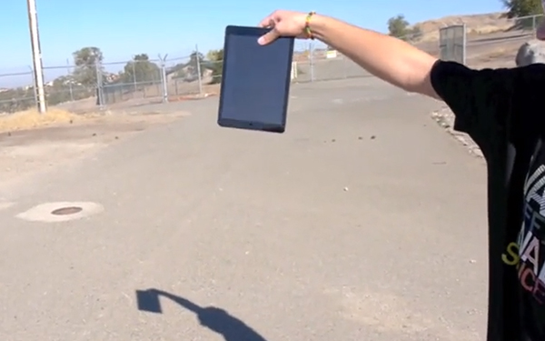 iPad Air - Video Test Caidas