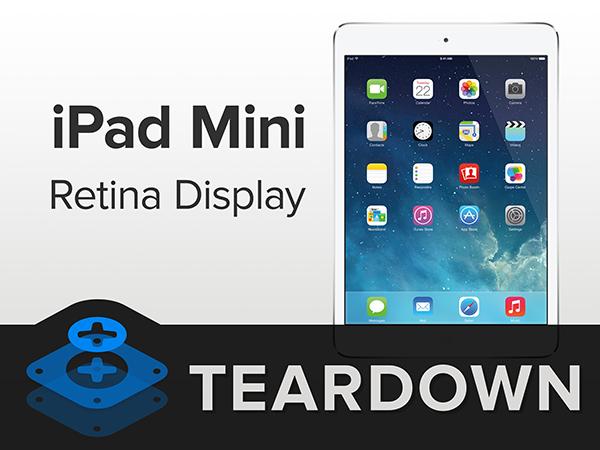 iPad mini Retina Desmontaje Video