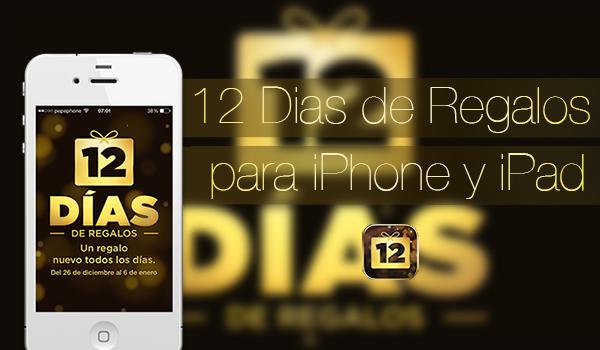 12 Dias Regalos iPhone-iPad