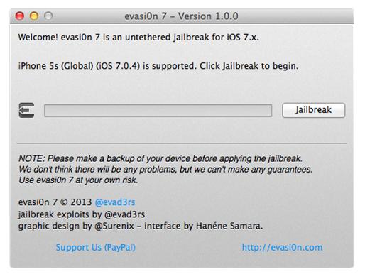 Jailbreak-iOS-7-evati0n-iPhone 4 - iPad mini Retina