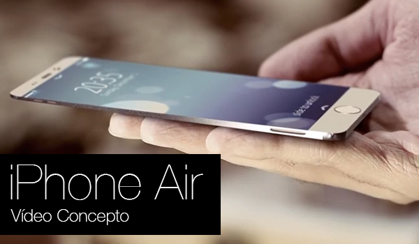iPhone Air Video Concepto