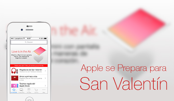 Apple - Regalos San Valentin