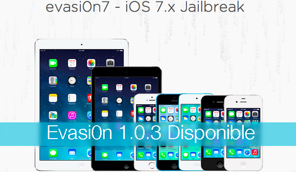 Evasi0n 1.0.3 Jailbreak iOS 7