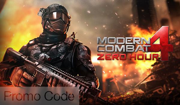 Modern Comat 4 - Promo Code