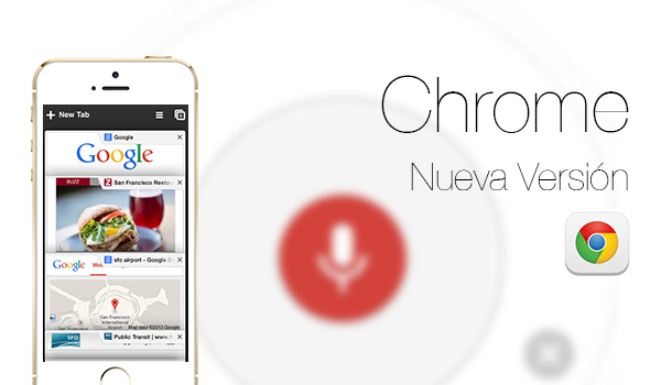 Navegador Web Chrome iOS 7