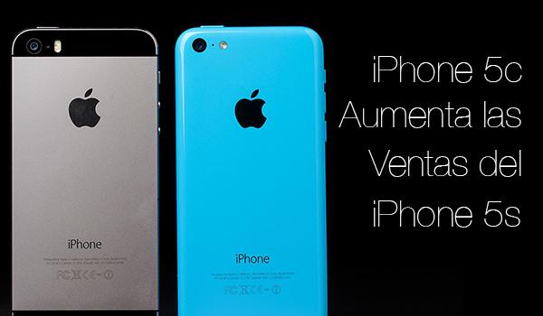 iPhone 5c Aumenta Ventas iPhone 5s