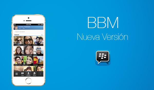 BBM - Nueva Version