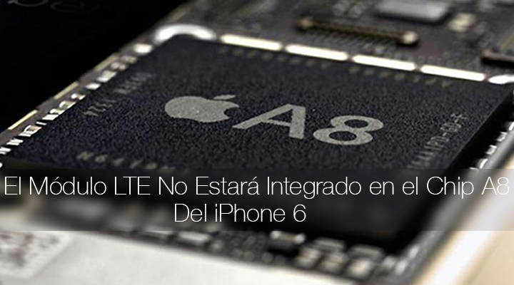 Modulo LTE iPhone 6 Chip A8