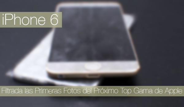 iPhone 6 Galeria Fotos Filtradas