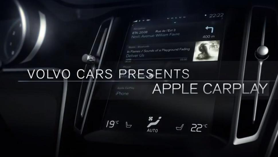 CarPlay Volvo