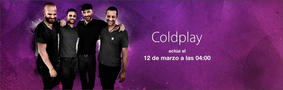 Coldplay - iTunes Festival SXSW