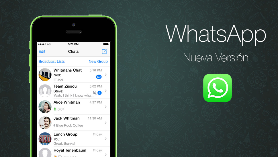 WhatsApp - Nueva Version