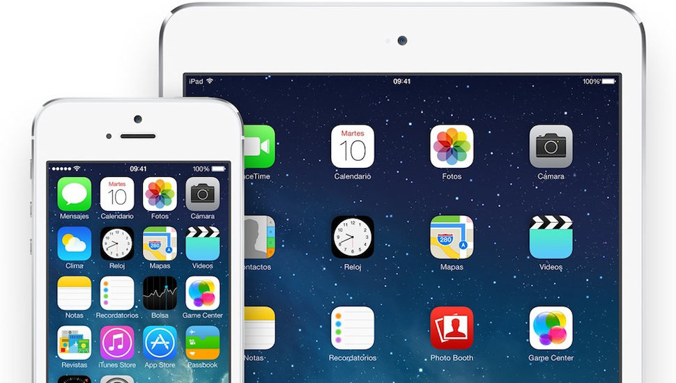 iOS 7 iPhone 5s iPad Air