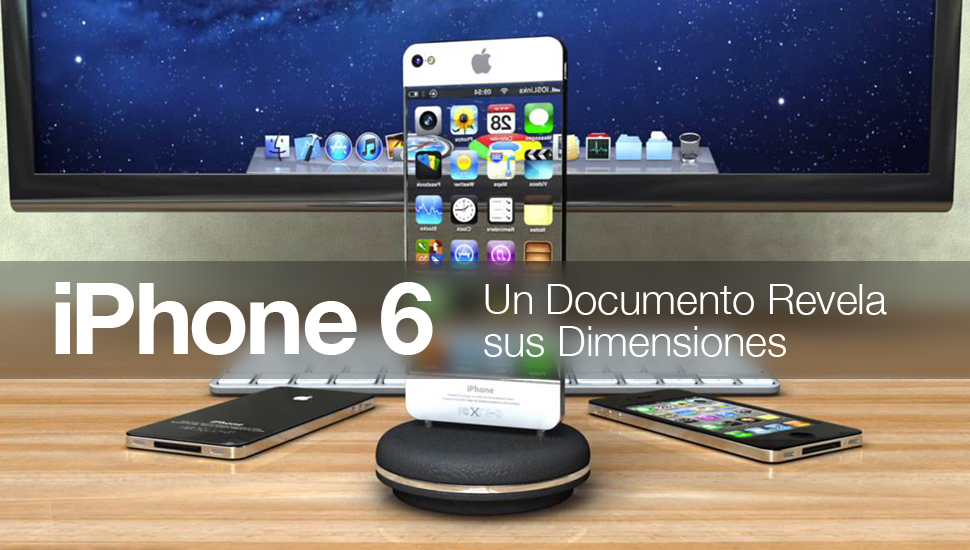 iPhone 6 - documento revela dimensiones