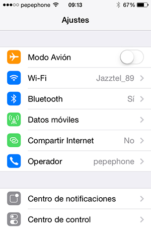 iOS 7.1.1 - 1