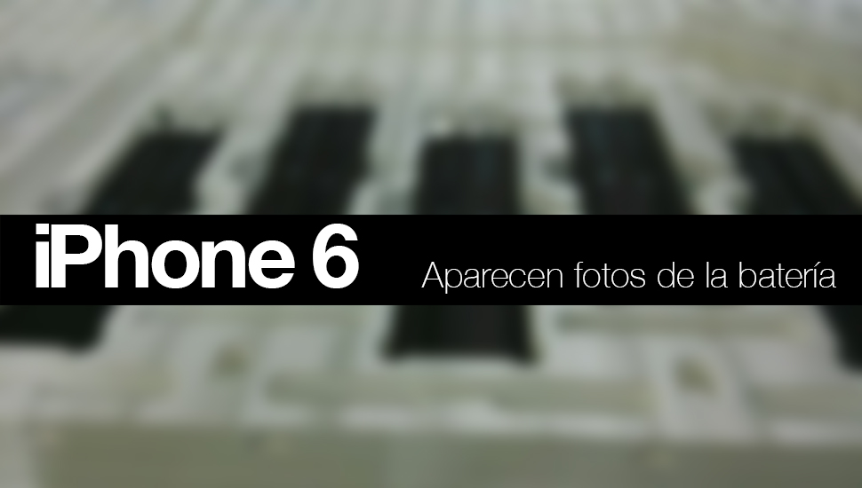 iPhone 6 Bateria Fotos