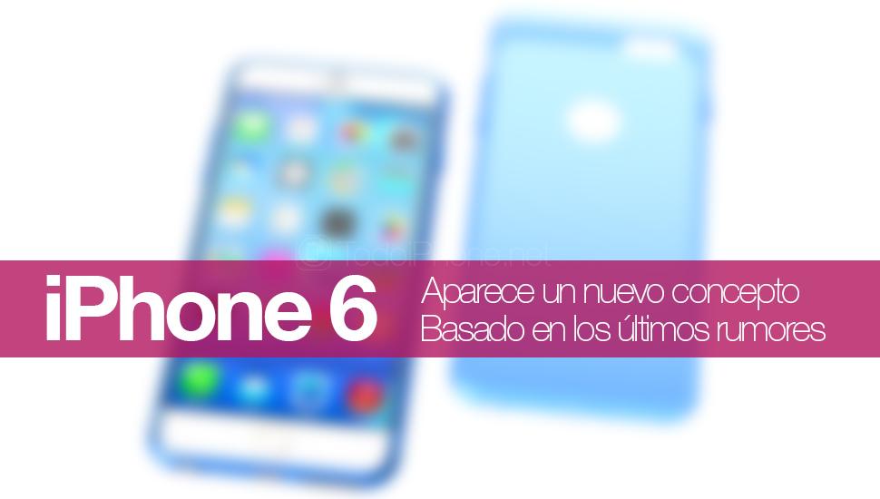 iPhone 6 Nuevo Concepto Hajek
