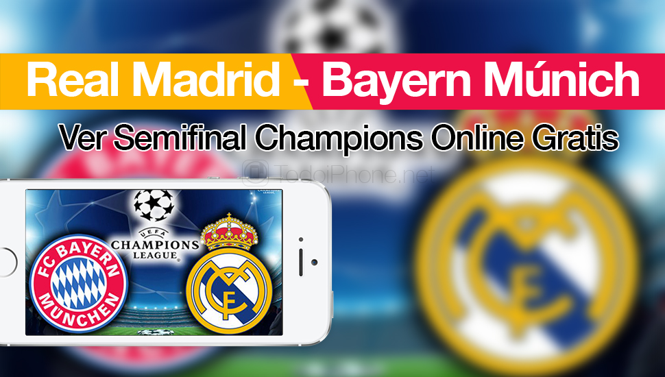 ver-real-madrid-bayern-semifinal-champions-online