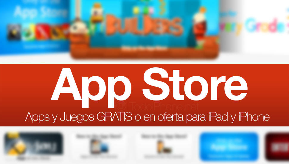 Apps y Juegos GRATIS o en oferta para iPhone y iPad (09/08/14)