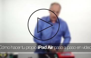 como-hacer-ipad-air-video