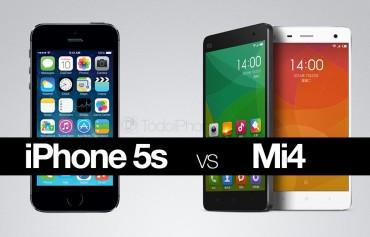 iPhone-5s-vs-Xiaomi-Mi4