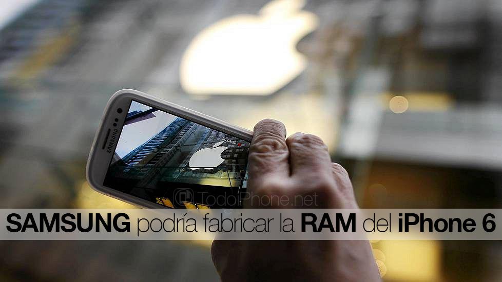 samsung-podria-fabricar-ram-iphone-6