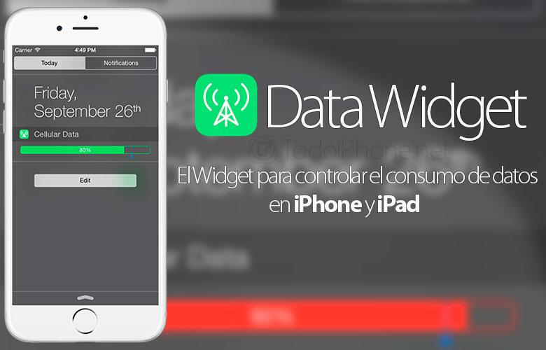 Data-Widget-Control-Tarifa-Datos-iPhone-iPad