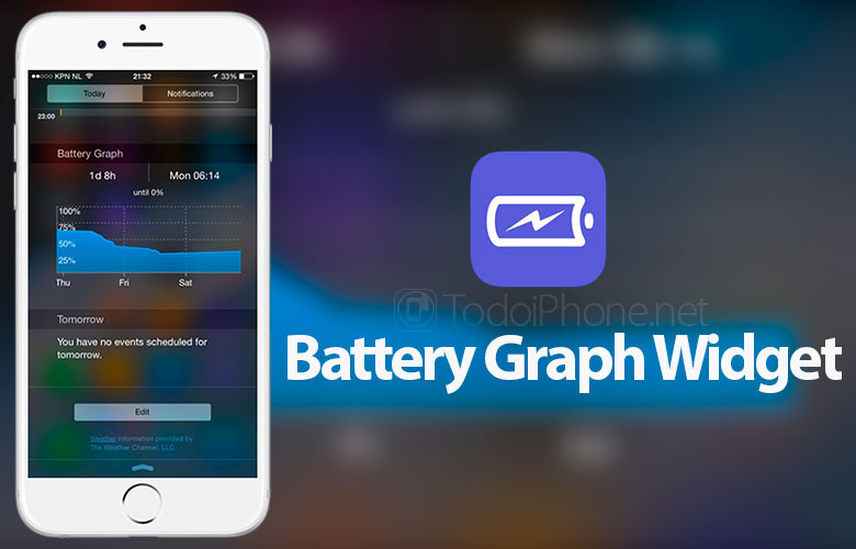 Battery-Graph-Widget