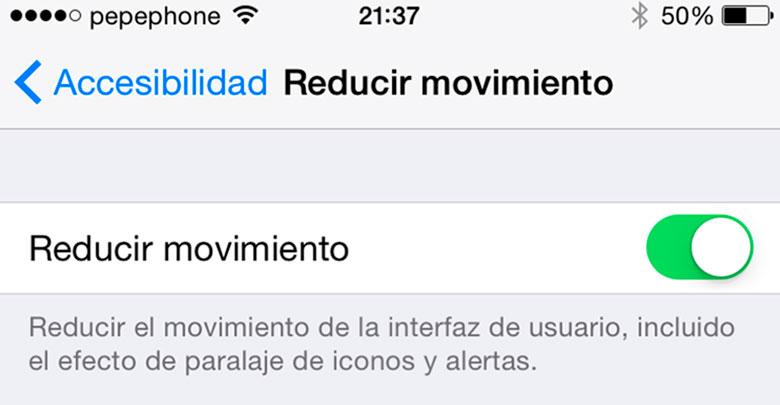iPhone-6-Ajustes-Esenciales-Configuracion-Paralaje-Efecto