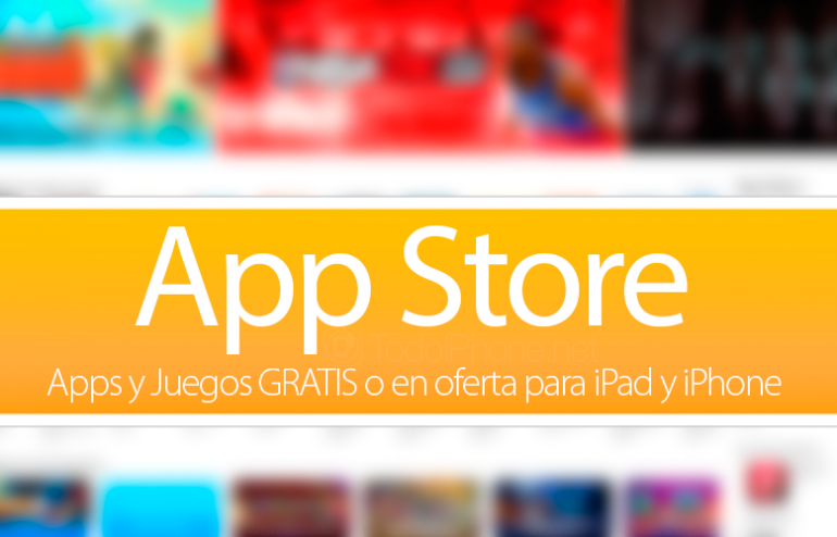 Apps-Juegos-oferta-GRATIS-iPad-iPhone