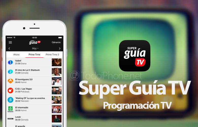 super-guia-tv-programacion-tv-iphone