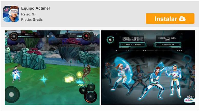 descargar-equipo-actimel-juego-iphone-ipad