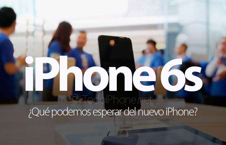 que-esperar-nuevo-iphone-6s