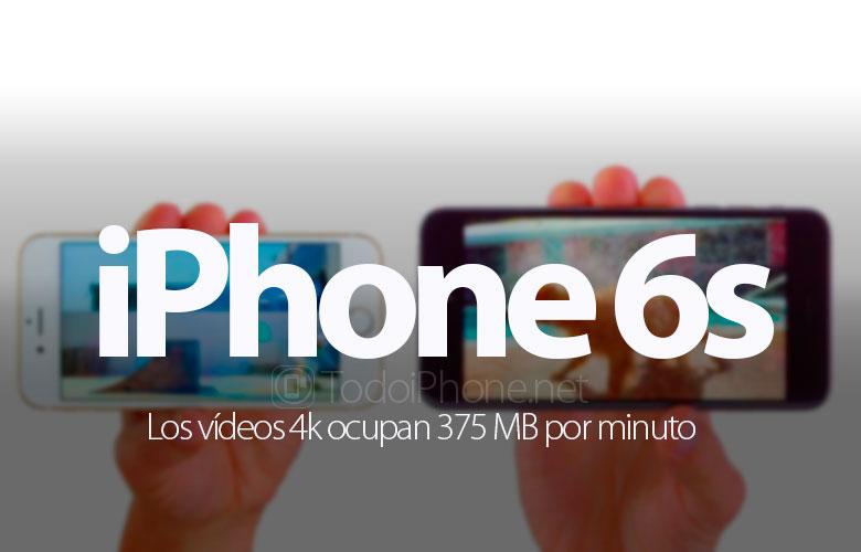 videos-4k-iphone-6s-ocupan-375-mb-minuto